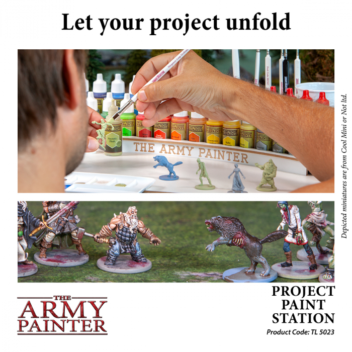 Project Paint Station - The Army Painter 1