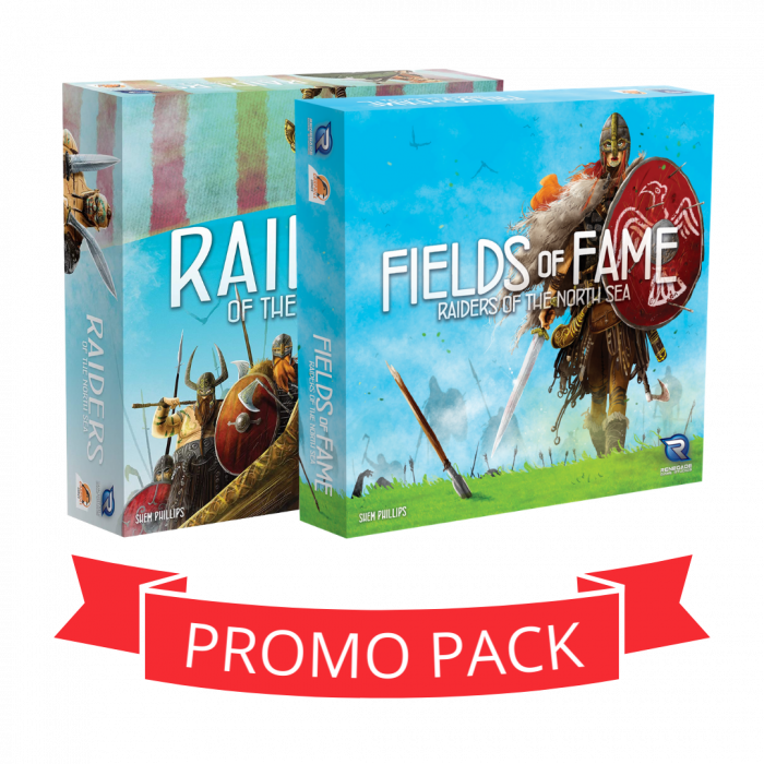 Raiders of the North Sea & Fields of Fame - Promo Pack 0