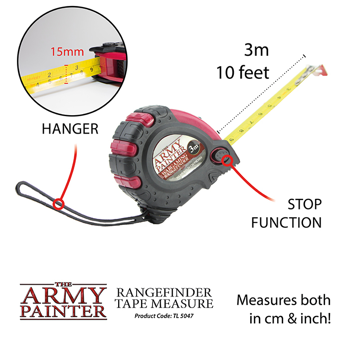 Rangefinder Tape Measure - The Army Painter 2