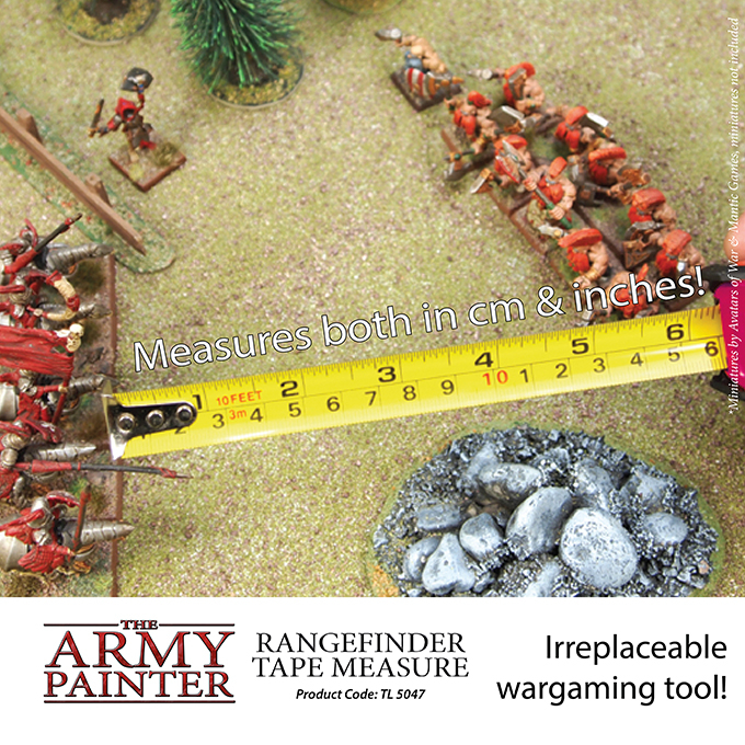 Rangefinder Tape Measure - The Army Painter 4