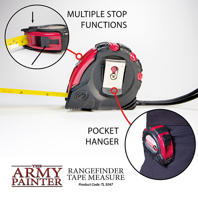 Rangefinder Tape Measure - The Army Painter 3