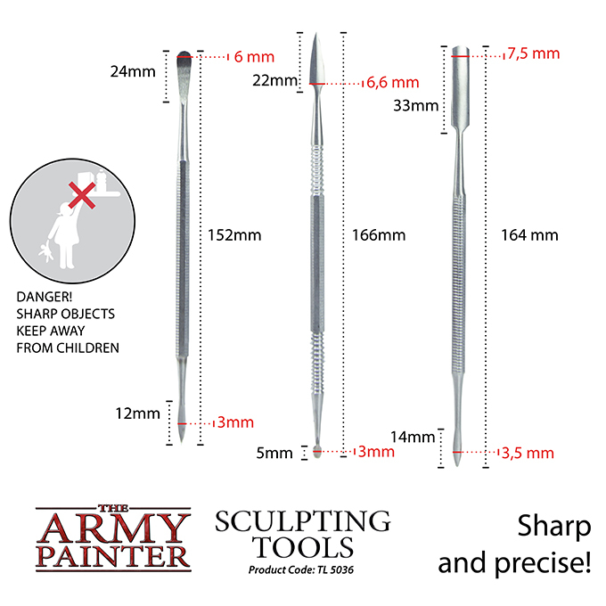 Sculpting Tools - The Army Painter 2