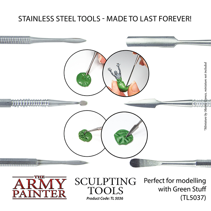 Sculpting Tools - The Army Painter 3