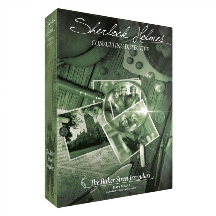 Sherlock Holmes Consulting Detective: Baker Street Irregulars - EN 0