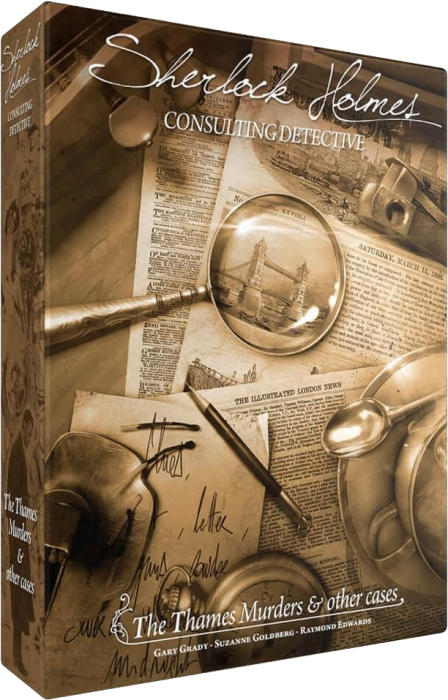 Sherlock Holmes Consulting Detective: The Thames Murders & Other Cases - EN [0]