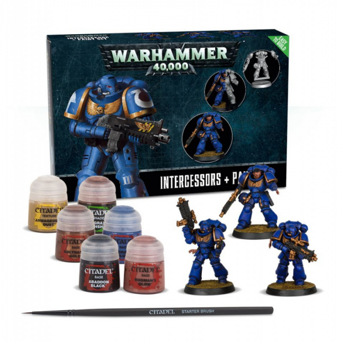 Space Marines Intercessors Paint Set+ 1