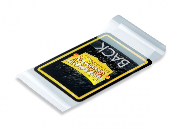 Standard Perfect Fit Sealable Sleeves: Clear 63x88mm (100 buc) - Dragon Shield [1]