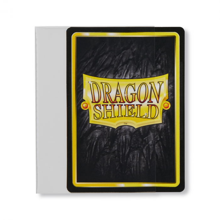 Standard Perfect Fit Sideloading Sleeves: Clear 63x88mm (100 buc) - Dragon Shield 1