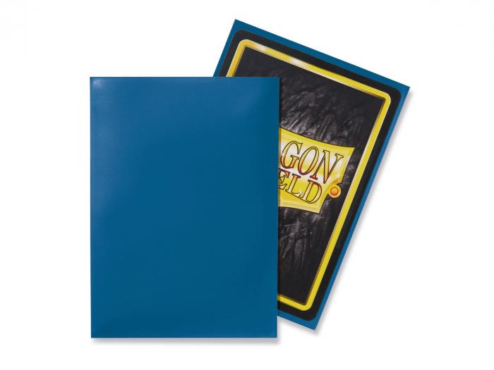 Standard Sleeves: Blue 63x88mm (100 buc) - Dragon Shield 1