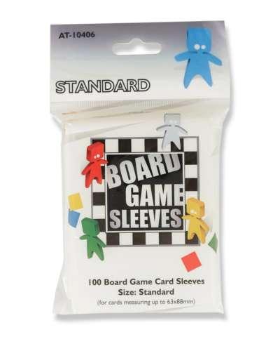 Standard Sleeves: Clear 63x88mm (100 buc) - Arcane Tinmen [0]