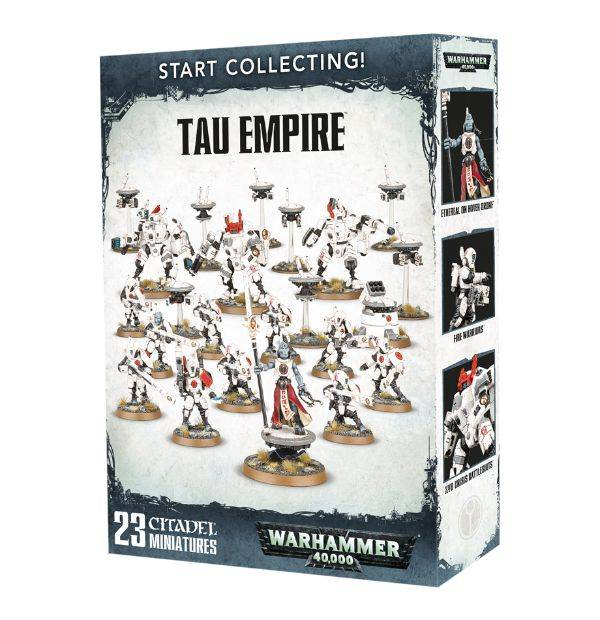 Start Collecting! Tau Empire 0