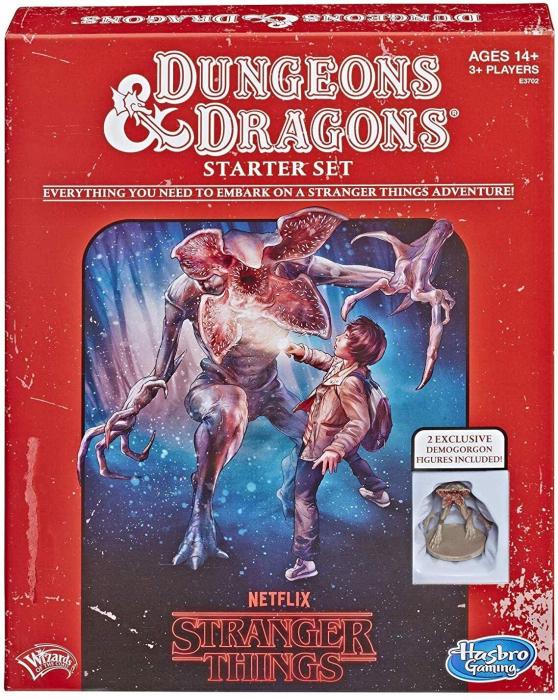 Stranger Things D&D Starter Set - EN 0