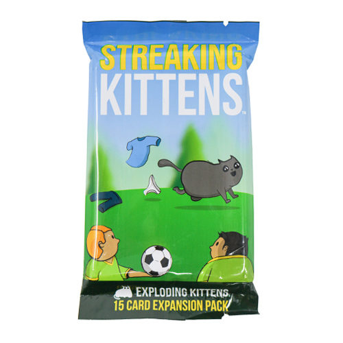 Streaking Kittens Exploding Kittens (Extensie) - EN 0