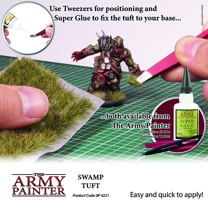 Swamp Tuft - The Army Painter 3