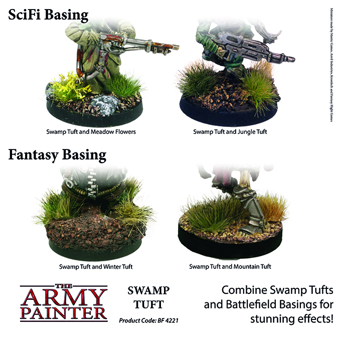 Swamp Tuft - The Army Painter 4