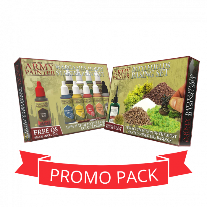 The Army Painter Paints + Basing - Promo Pack 0