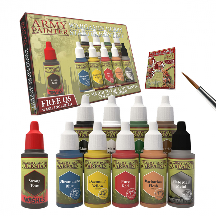 The Army Painter Paints + Basing - Promo Pack 1