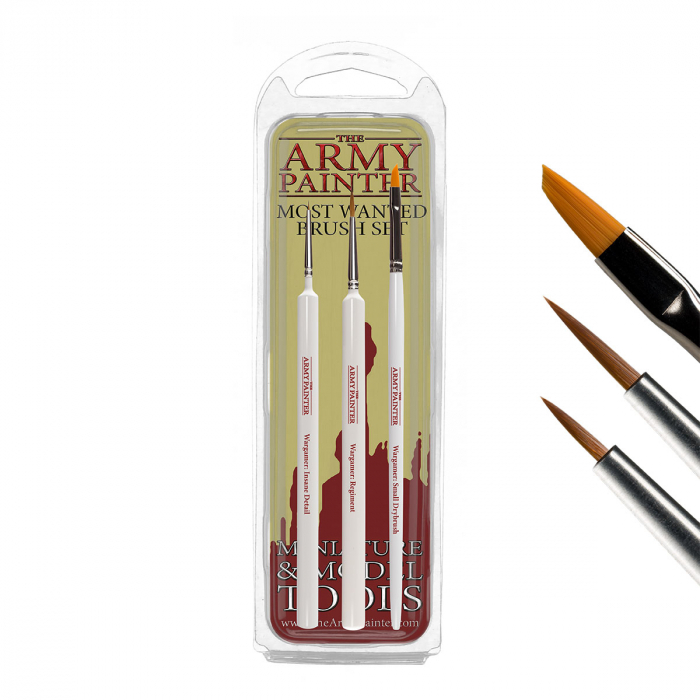 The Army Painter Paints & Brushes - Promo Pack [3]