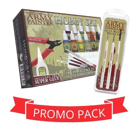 The Army Painter Paints & Brushes - Promo Pack [0]