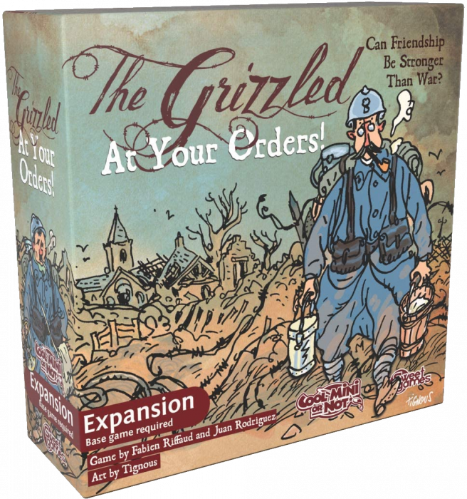 The Grizzled - Promo Pack 2
