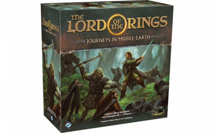 The Lord of the Rings: Journeys in Middle-Earth Board Game 0