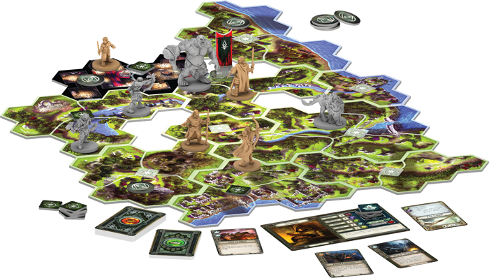 The Lord of the Rings: Journeys in Middle-Earth Board Game - EN 1