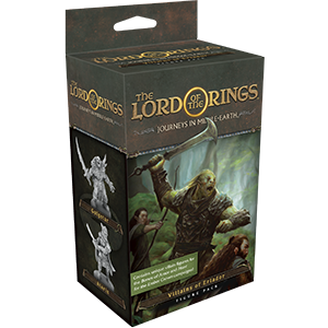 The Lord of the Rings: Journeys in Middle-Earth Board Game - Villains of Eriador Figure Pack (Extensie) 0