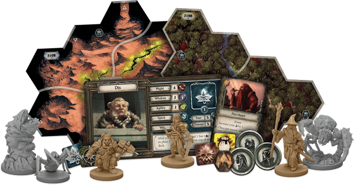 The Lord of the Rings: Journeys in Middle- Earth Shadowed Paths Expansion (Extensie) - EN 1