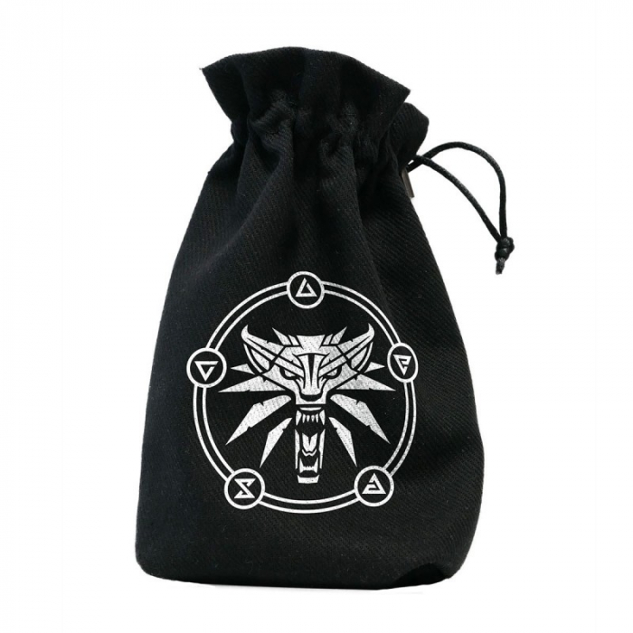 The Witcher Dice Pouch Geralt - School of the Wolf [0]