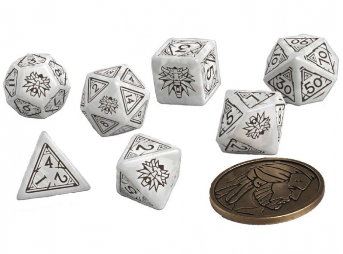 The Witcher Dice Set Geralt - The White Wolf [0]