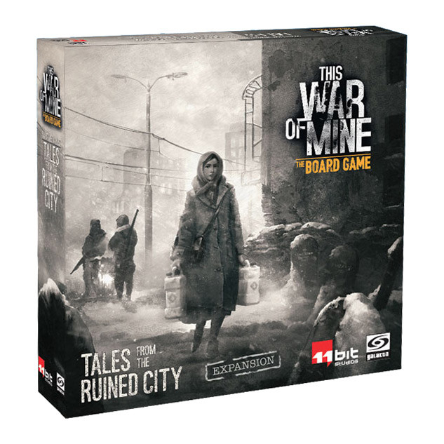 This War of Mine The Board Game - Tales from the Ruined City (Extensie) 0