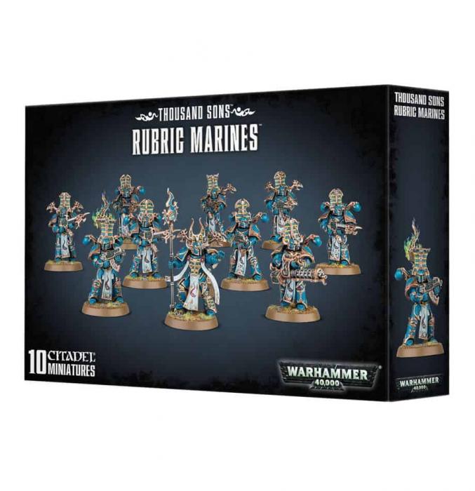 thousand sons rubic marines 0
