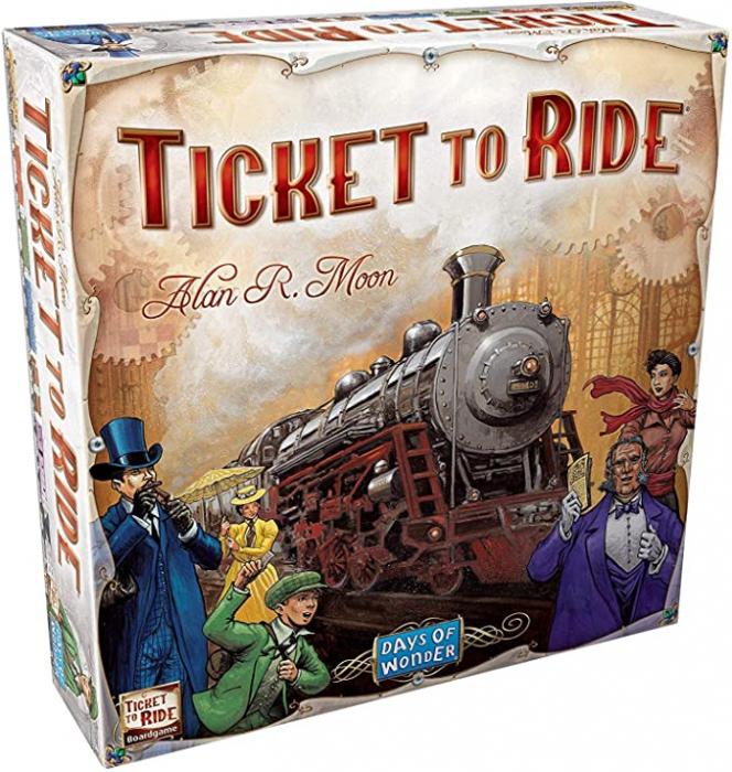 Ticket to Ride - EN 0
