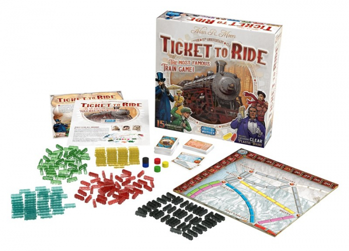 Ticket to Ride - EN 1