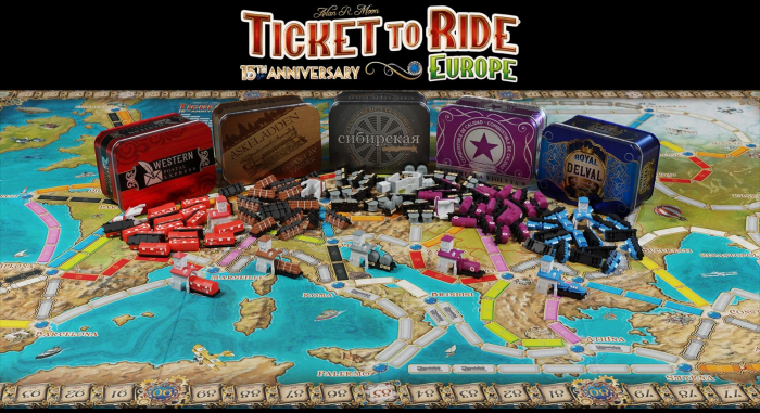 Ticket to Ride: Europe - 15th Anniversary - EN 4