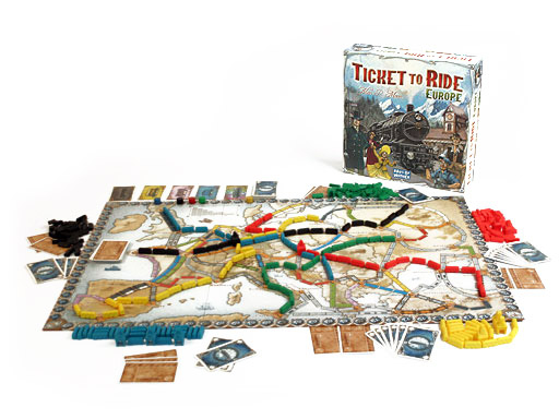 Ticket to Ride - Europe - EN 1