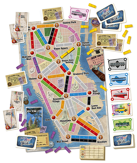 Ticket to Ride: New York City 1960 - EN 1