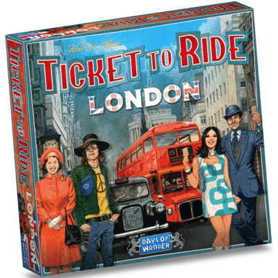 Ticket to Ride: London - EN 0