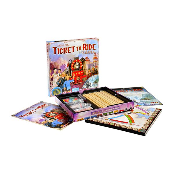 Ticket to Ride - Map Collection 1: Asia (Extensie) - EN 1