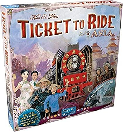 Ticket to Ride - Map Collection 1: Asia (Extensie) 0