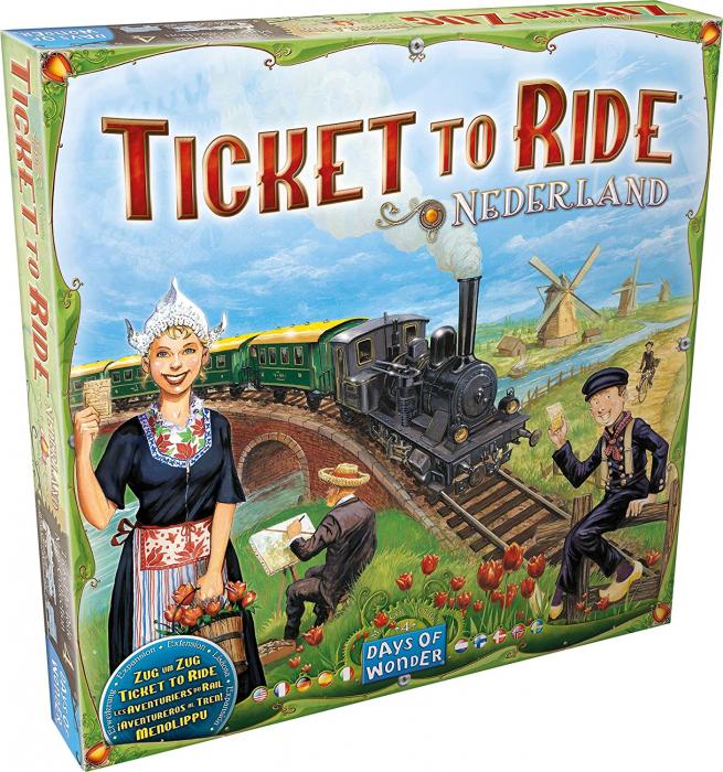 Ticket to Ride - Map Collection 4: Nederland (Extensie) - EN 0