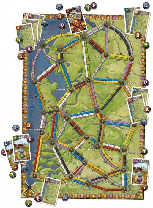Ticket to Ride - Map Collection 4: Nederland (Extensie) - EN 1