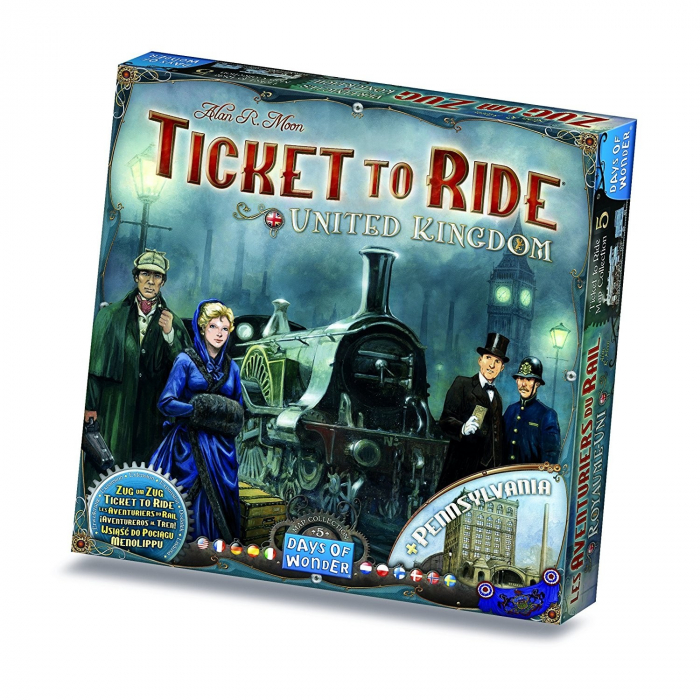 Ticket To Ride United Kingdom (Extensie) - EN 0