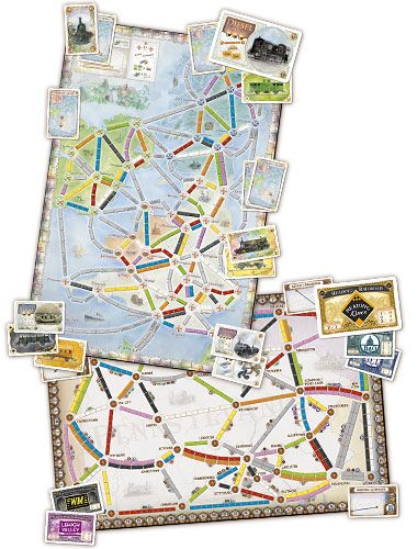 Ticket To Ride United Kingdom (Extensie) - EN 1