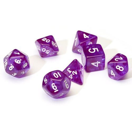 Translucent Purple Poly Set 0