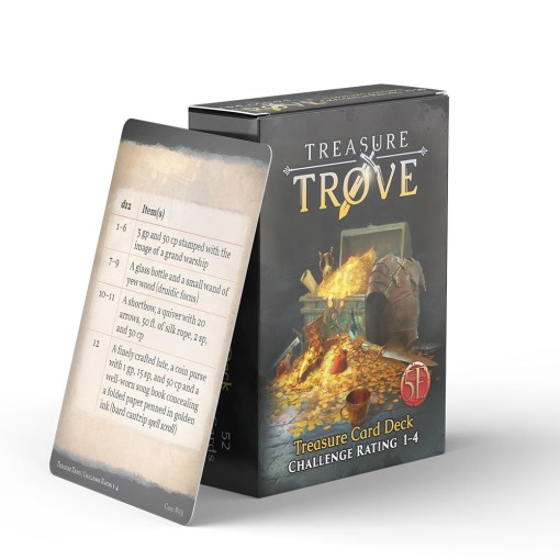Treasure Trove CR 1-4 0