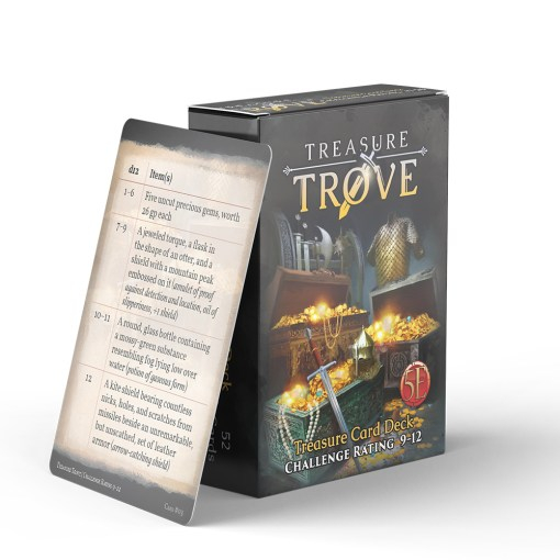 Treasure Trove CR 9-12 - EN 0