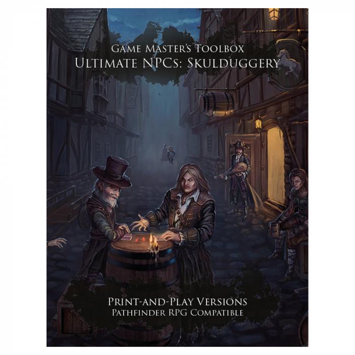 Ultimate NPCs: Skulduggery - EN 0