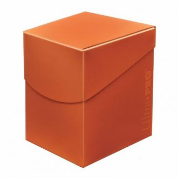 Eclipse PRO 100+ Deck Box - Pumpkin Orange - UP 0