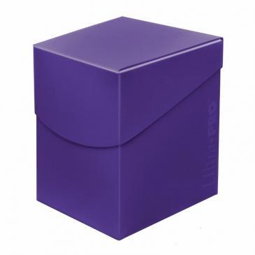 Eclipse PRO 100+ Deck Box - Royal Purple - UP 0